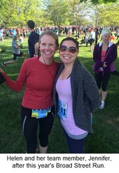 JURISolutions' Helen Heenan to participate in the Philadelphia Marathon