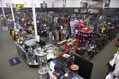 We are the store to go for ATV's things and gear.