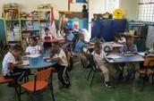 La clase segundo de República Dominicana