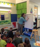 Working to create a class sentence.