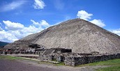 Visit the pyramid of the sun