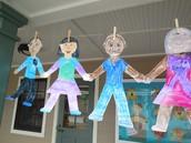 Kindergarten Paper Dolls of the Students!
