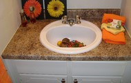 New Countertops in 1/2 Bath