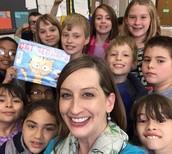 Mrs. Esarey and her Reading Buddies