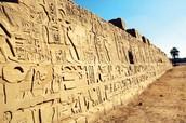 Hieroglyphic tourist attraction