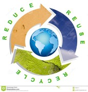reduse. reuse. recycle.