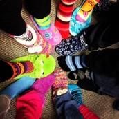 Crazy Sock/Slipper Day