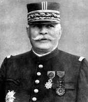 French commander-Cheif General Joffre