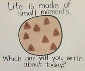 Writing - Small Moments / Personal Narratives