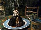 Volcano Dessert