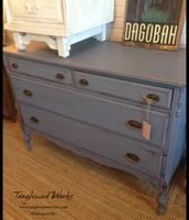 $275 - Vintage Gray Dresser