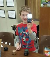 Flashlight using Cubelets