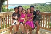Una familia multiracial