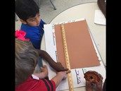 Measuring paper to create our platypus