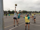 After school basketball is well underway.    We have 150 boys and girls out, and they are loving it.