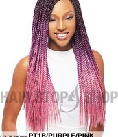 This is what box braids look like
