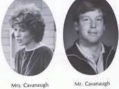 Mr and Mrs .Cavanaugh