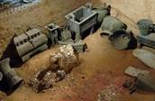 Some ruins at Anyang