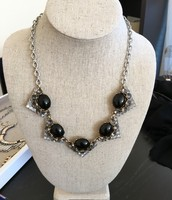 SOLD $29.50 Rory Necklace - Black (RETIRED)