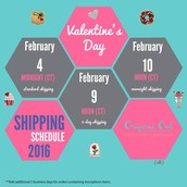 Valentine Shipping US!!