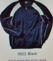 warm up jacket (black)