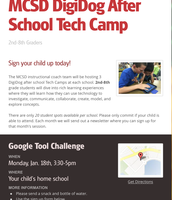 DigiDog Student Camp Flyer & Registration