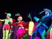 The performers encantó a alumnos de Junior School