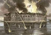 Fort Sumter in Action