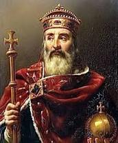 charlemagne becomes roan emperor