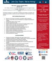 Campus Recruiter position  (Atlanta, GA)