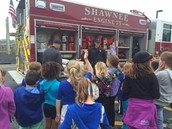 Shawnee Fire Fighters Visit