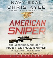 American sniper [sound recording] : the autobiography of the most lethal sniper in U.S. military history by Chris Kyle ; with Scott McEwen and Jim DeFelice