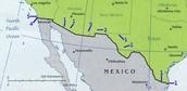 Mexico-USA Border