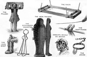 Torture devices forced witches to confess