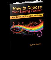 ספרי הראשון באמזון - איך לבחור מורה לפיתוח קול?