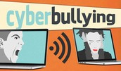 Cyberbullying is bullying that happens online.