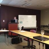 Ergonomics training at WVEOP meeting held at WVTSC