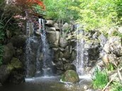 Waterfalls at The Japanese Gardens