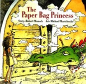 January book: The Paper Bag Princess