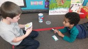 Working with a partner helps make learning engaging!