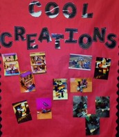Cool Creations Wall at SH Intermediate