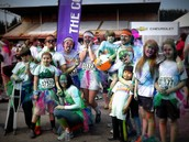 Team PURE will represent at The Color Run again this year!