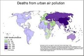 How many deaths air pollution can cause
