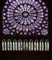 Beautiful glass windows.