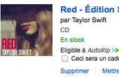 Taylor Swift CD