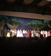 Into the Woods; Lighting