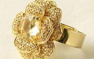 Flower Bloom Ring - Gold