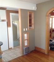 Dining Room looking towards backdoor area.