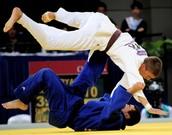 Un peu de Judo (pour s'entraîner à projeter une dynamique sans me perdre dedans.)