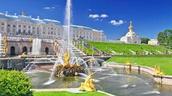 Day 5 (July 5) Peterhof Palace